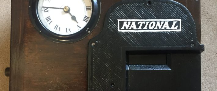 Featured: National Clocking in Machine